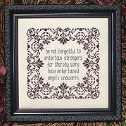 Be Not Forgetful - Cross Stitch Pattern