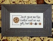 Give Me The Cookie - Cross Stitch Pattern