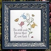 Be Still and Know - Cross Stitch Pattern