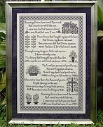 Amazing Grace (#88)  - Cross Stitch Pattern
