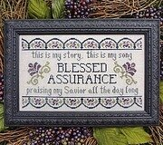 Blessed Assurance - Cross Stitch Pattern