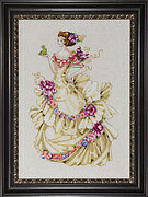 Ella the Frog Princess - Cross Stitch Pattern