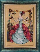 Queen Mariposa - Mirabilia Cross Stitch Pattern