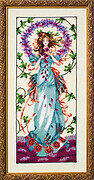 Blossom Goddess - Cross Stitch Pattern