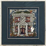 Haunted Library - Beaded Cross Stitch Kit