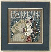 Believe - Beaded Cross Stitch Kit