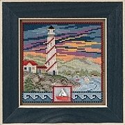 Lighthouse - Beaded Cross Stitch Kit