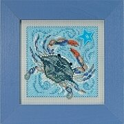 Crab - Beaded Cross Stitch Kit