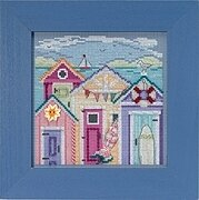 Cabana Beach - Beaded Cross Stitch Kit