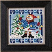 Mr. Jack Frost (2015) - Beaded Cross Stitch Kit