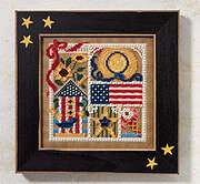 Summer Sampler - Beaded Cross Stitch Kit