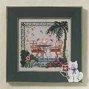 Tropical Hideaway - Beaded Cross Stitch Kit