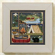 Camping Out - Beaded Cross Stitch Kit