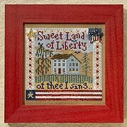 Sweet Liberty - Beaded Cross Stitch Kit