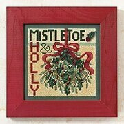 Mistletoe - Beaded Cross Stitch Kit