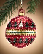 Ruby Forest - Beaded Cross Stitch Kit
