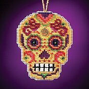 Amarillo - Beaded Cross Stitch Kit