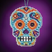 Azul - Beaded Cross Stitch Kit