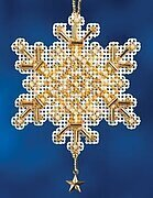 Gold Crystal - Beaded Cross Stitch Kit