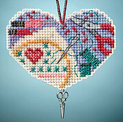 Love Stitching - Beaded Cross Stitch Kit
