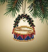 Drum - Beaded Cross Stitch Kit