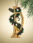 Trumpet - Beaded Cross Stitch Kit