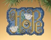 Hope - Beaded Cross Stitch Kit