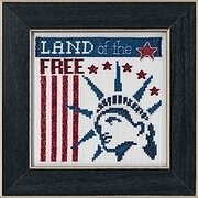 Land of the Free - Beaded Cross Stitch Kit