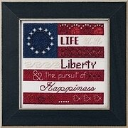 Life, Liberty - Beaded Cross Stitch Kit