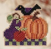 Harvest Garden - Beaded Cross Stitch Kit
