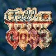 Fall in Love - Beaded Cross Stitch Kit