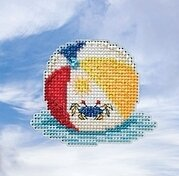 Beach Ball - Beaded Cross Stitch Kit