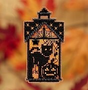 Taboo Kitty  - Beaded Cross Stitch Kit