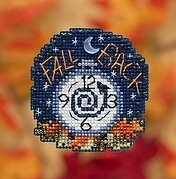 Fall Back - Beaded Cross Stitch Kit