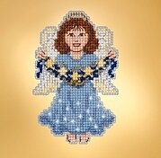 Celestial Angel - Beaded Cross Stitch Kit