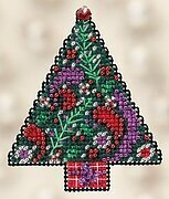 Paisley Tree - Beaded Cross Stitch Kit