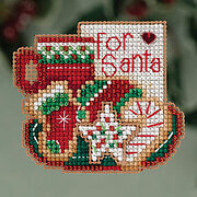 For Santa - Beaded Cross Stitch Kit