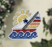 Sail Away - Beaded Cross Stitch Kit