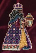 Balthasar - Beaded Cross Stitch Kit