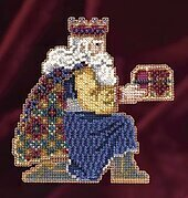 Gaspar - Beaded Cross Stitch Kit