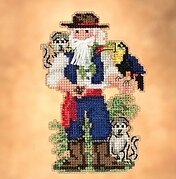 Amazon Santa- Beaded Cross Stitch Kit
