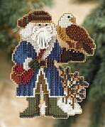 Pike's Peak Santa - Rocky Mountain Santas - Cross Stitch Kit