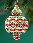 Ruby Diamond - Beaded Cross Stitch Kit