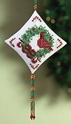 Cardinal - Beaded Cross Stitch Kit