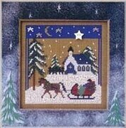 Sleigh Ride - Beaded Cross Stitch Kit