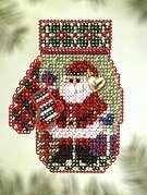 Santa's Night - Beaded Cross Stitch Kit