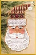 Santa Claus - Beaded Cross Stitch Kit
