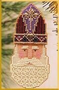 St. Nicholas - Beaded Cross Stitch Kit