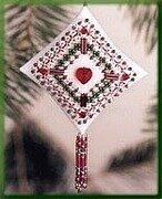 Plum Filigree 2003 - Beaded Cross Stitch Kit