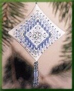 Icy Snowflake 2003 - Beaded Cross Stitch Kit